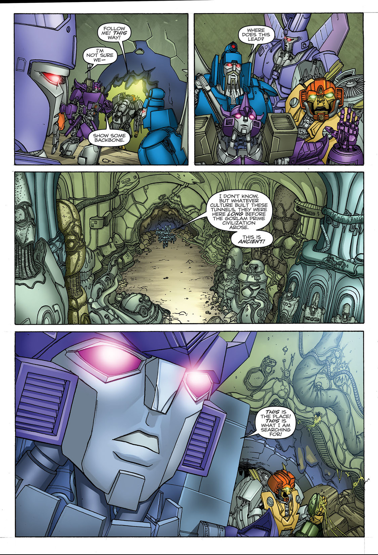 Read online Transformers: Heart of Darkness comic -  Issue #1 - 22
