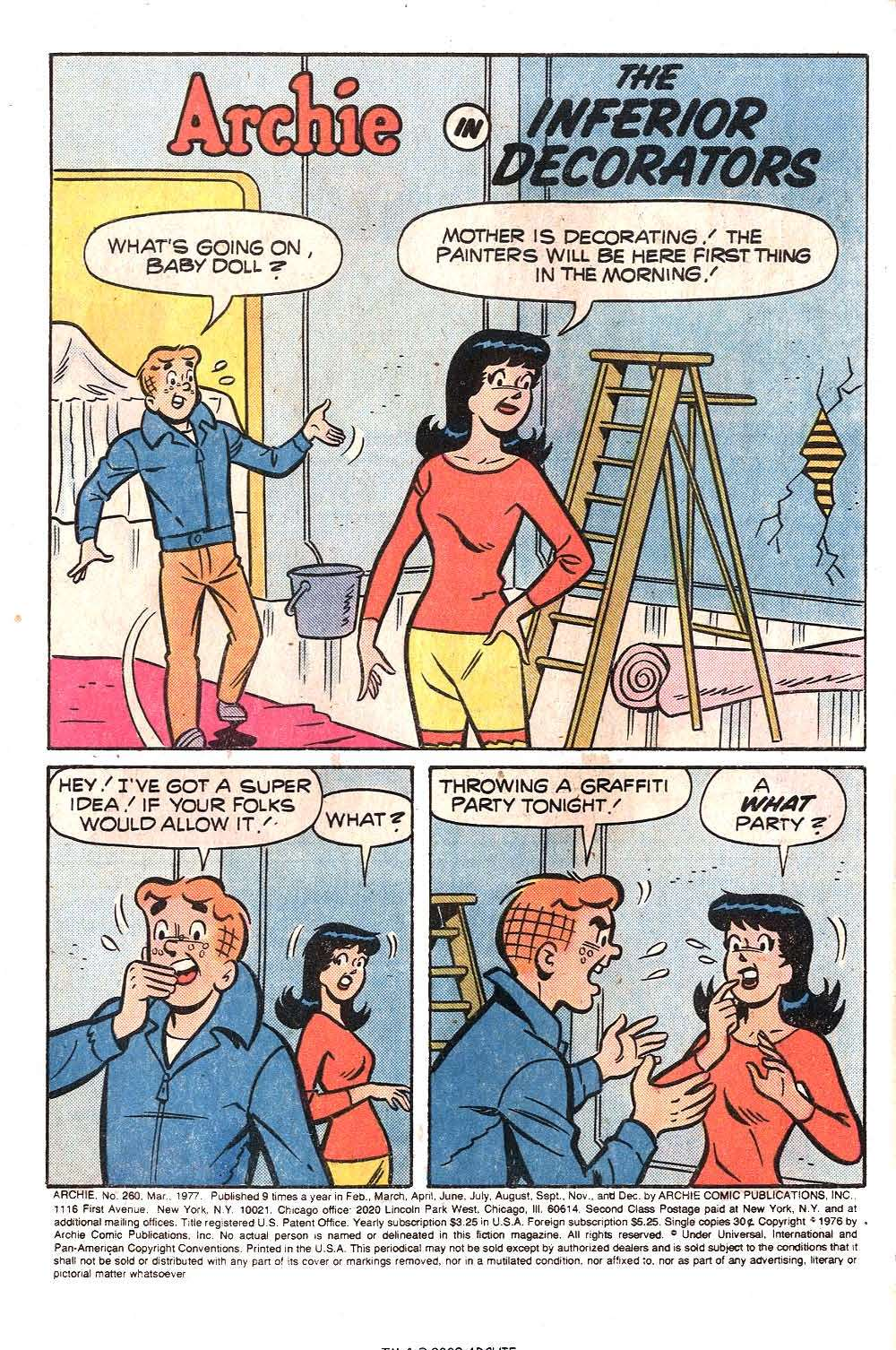 Read online Archie (1960) comic -  Issue #260 - 3
