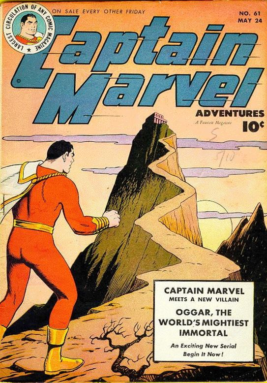 Captain Marvel Adventures 61 Page 1