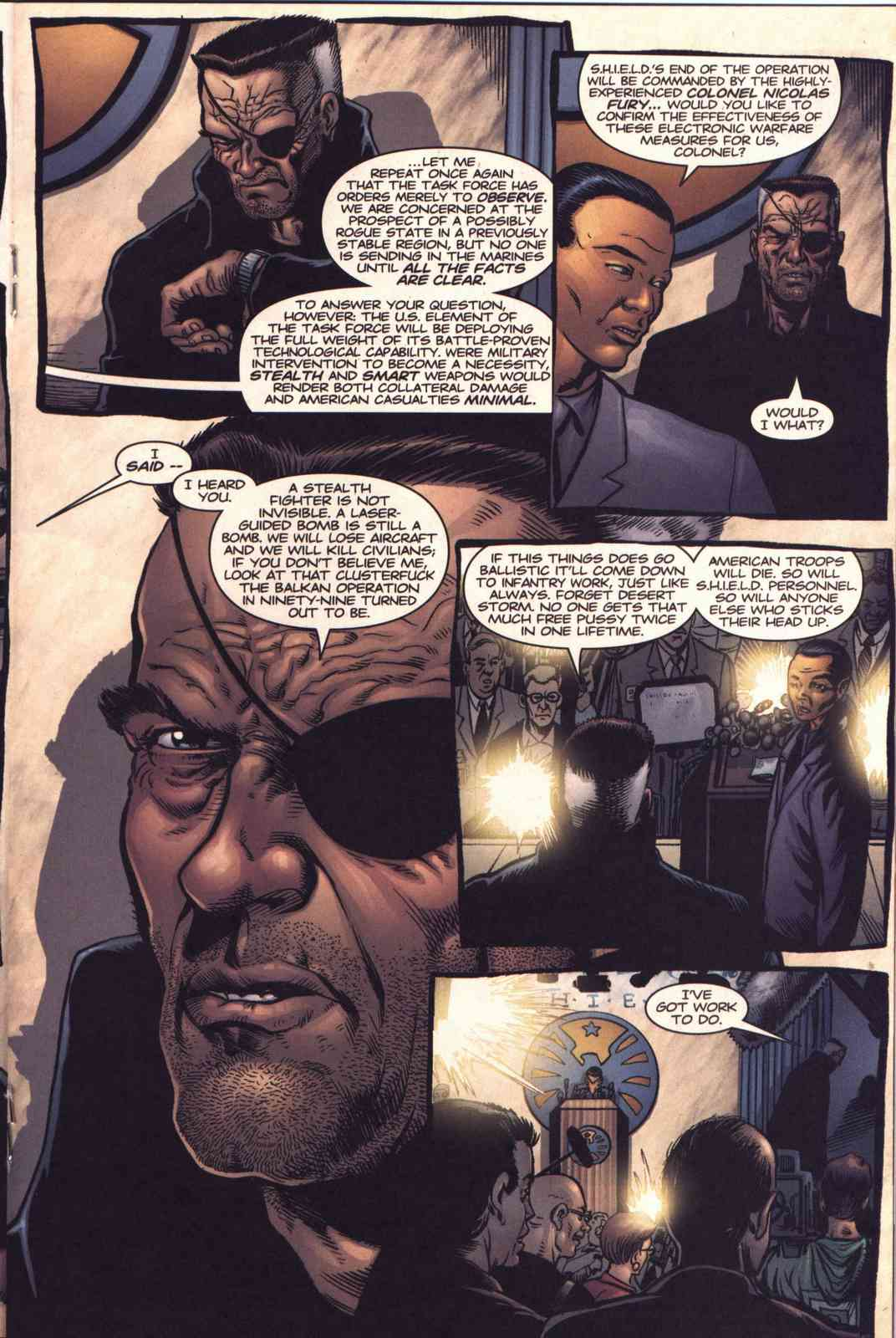 Read online Fury comic -  Issue #3 - 14