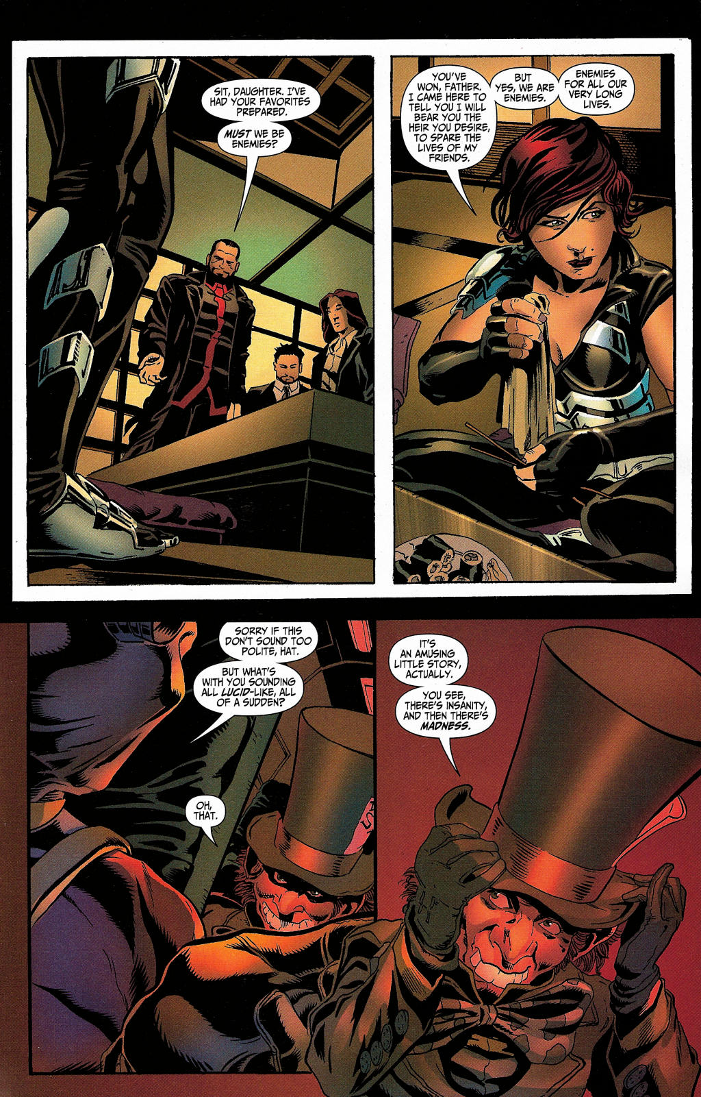 Read online Secret Six (2006) comic -  Issue #5 - 24