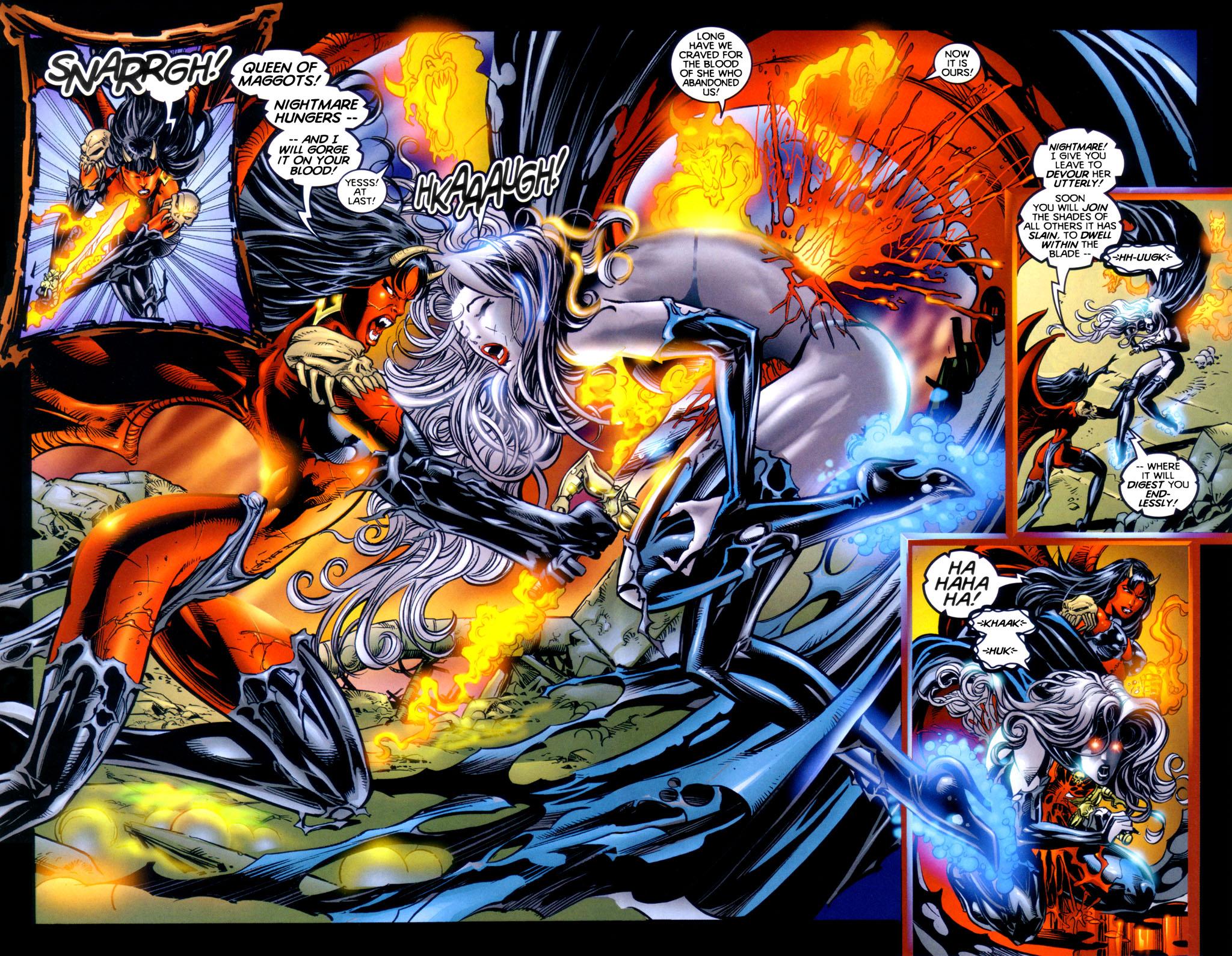 Read online Lady Death vs. Purgatori comic -  Issue # Full - 17