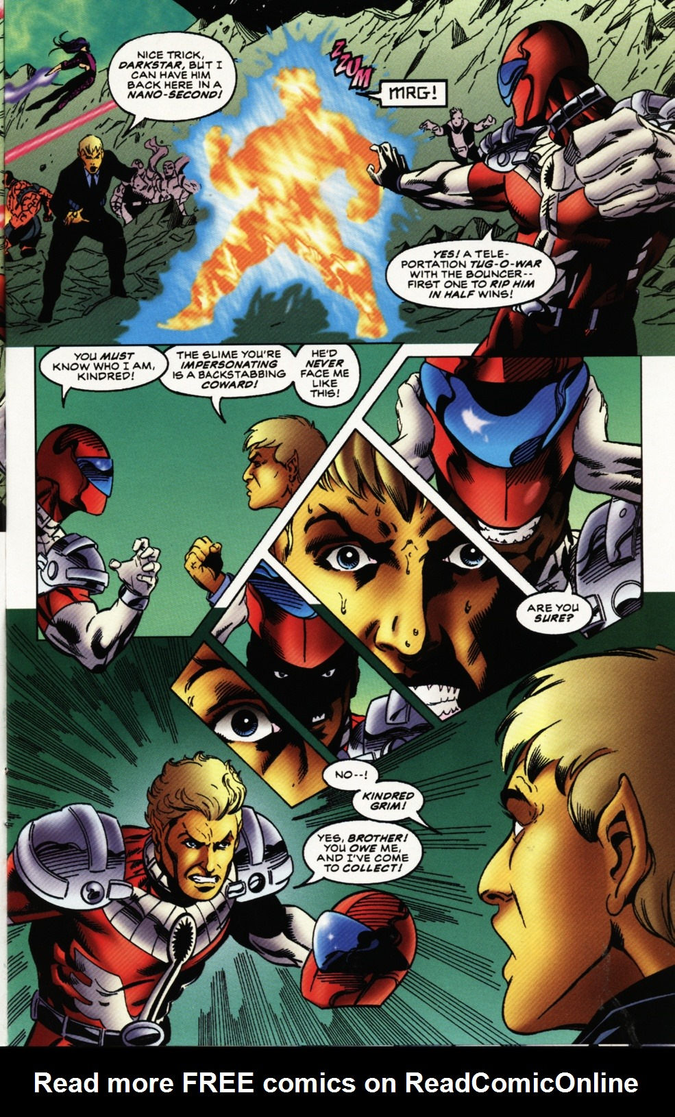 Read online Superboy & The Ravers comic -  Issue #12 - 7
