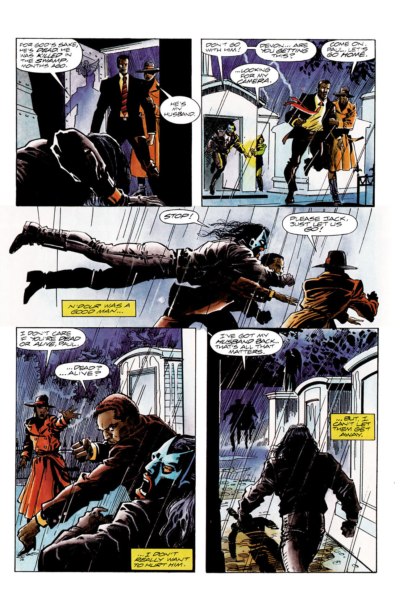 Read online Shadowman (1992) comic -  Issue #11 - 17