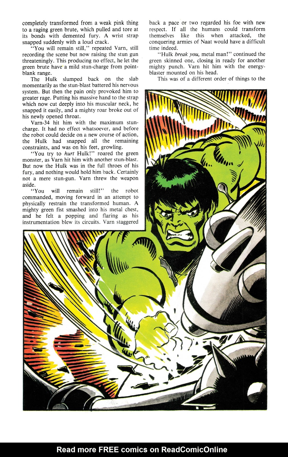 Read online Hulk: From The Marvel UK Vaults comic -  Issue # TPB (Part 2) - 93