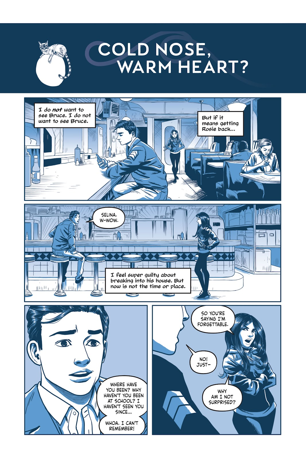 Read online Under the Moon: A Catwoman Tale comic -  Issue # TPB (Part 2) - 59