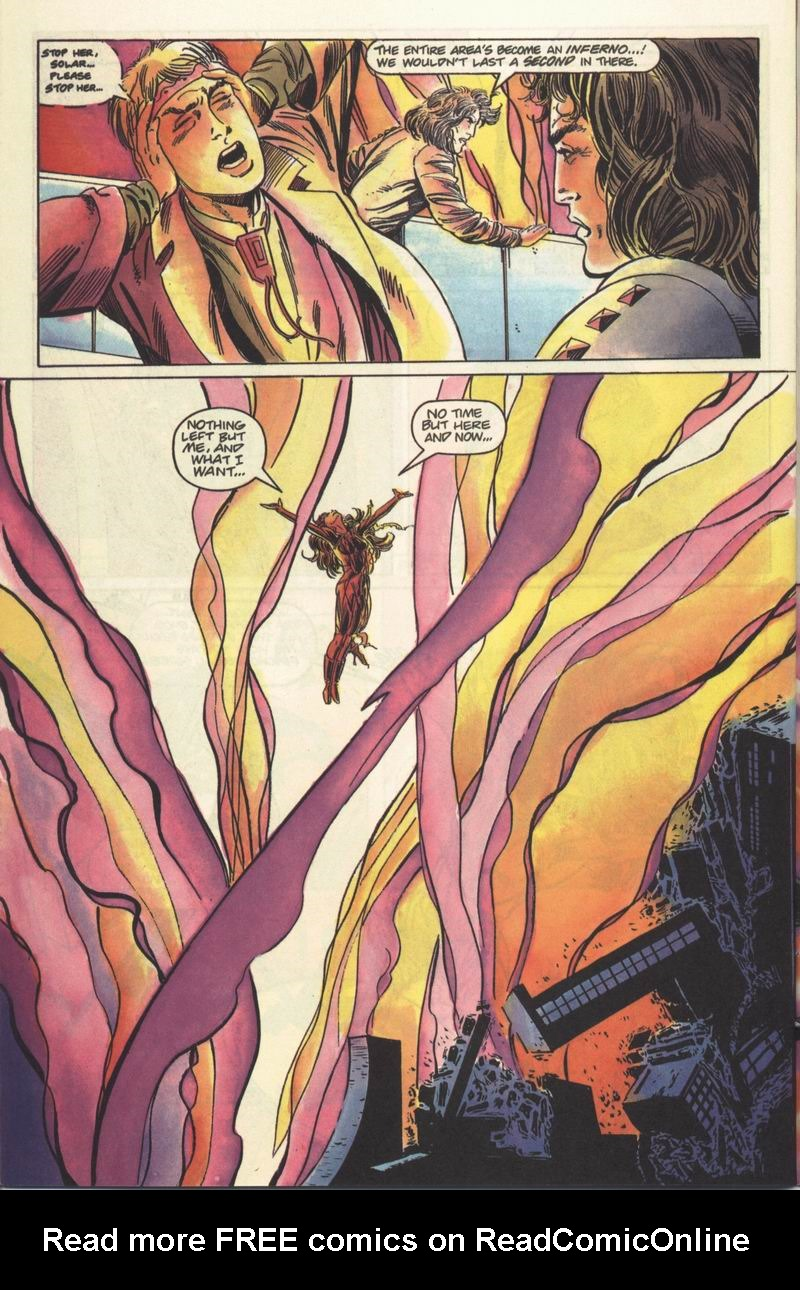 Read online Solar, Man of the Atom comic -  Issue #13 - 21