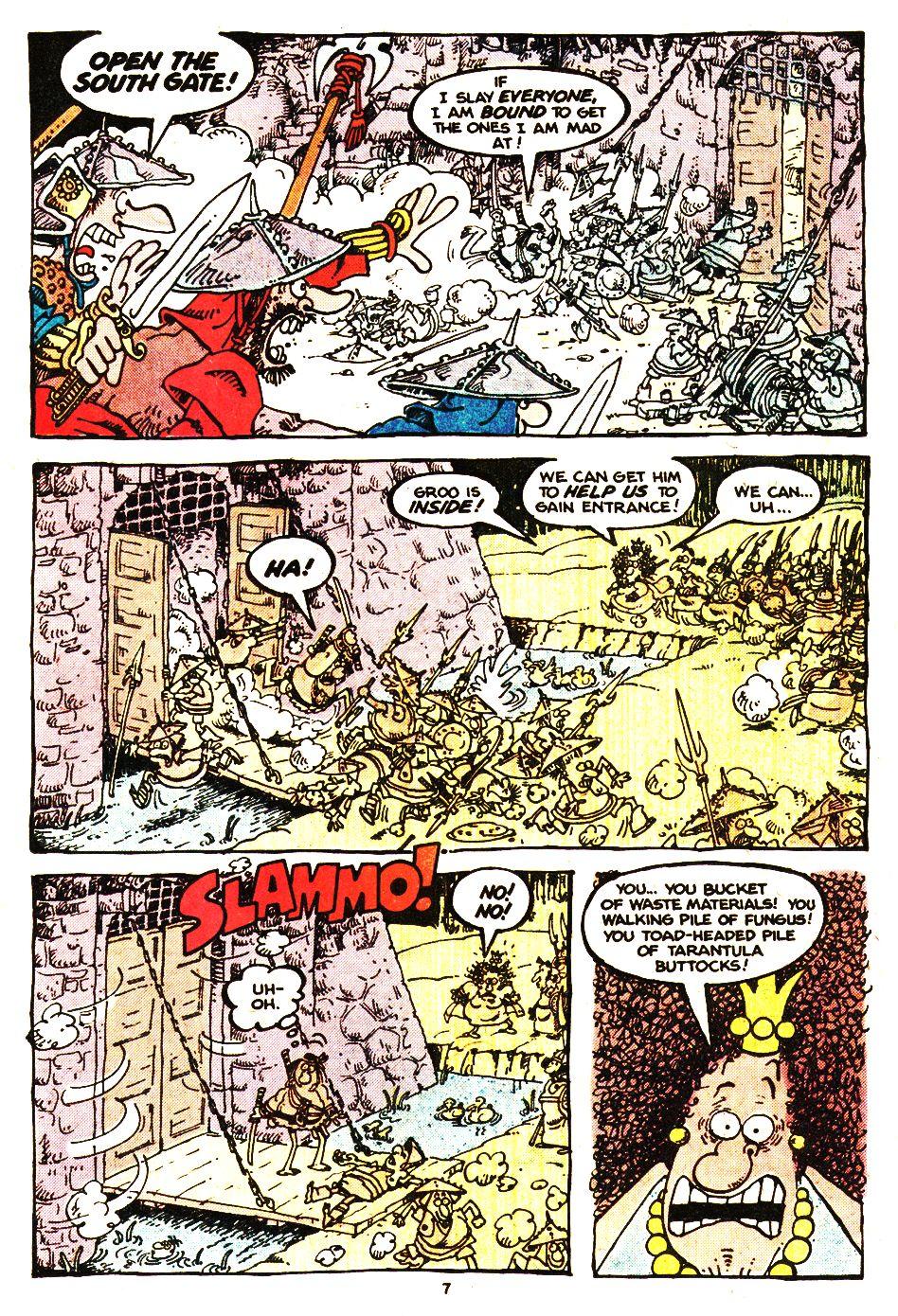 Read online Sergio Aragonés Groo the Wanderer comic -  Issue #20 - 7
