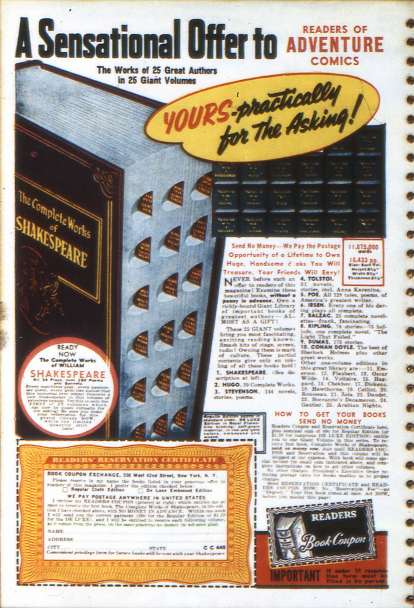 Read online Adventure Comics (1938) comic -  Issue #49 - 68