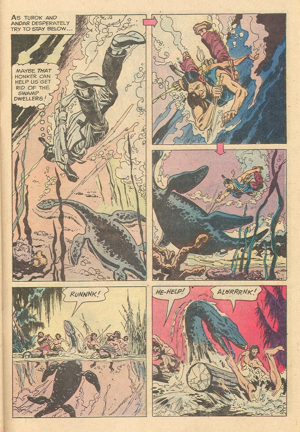 Read online Turok, Son of Stone comic -  Issue #129 - 31
