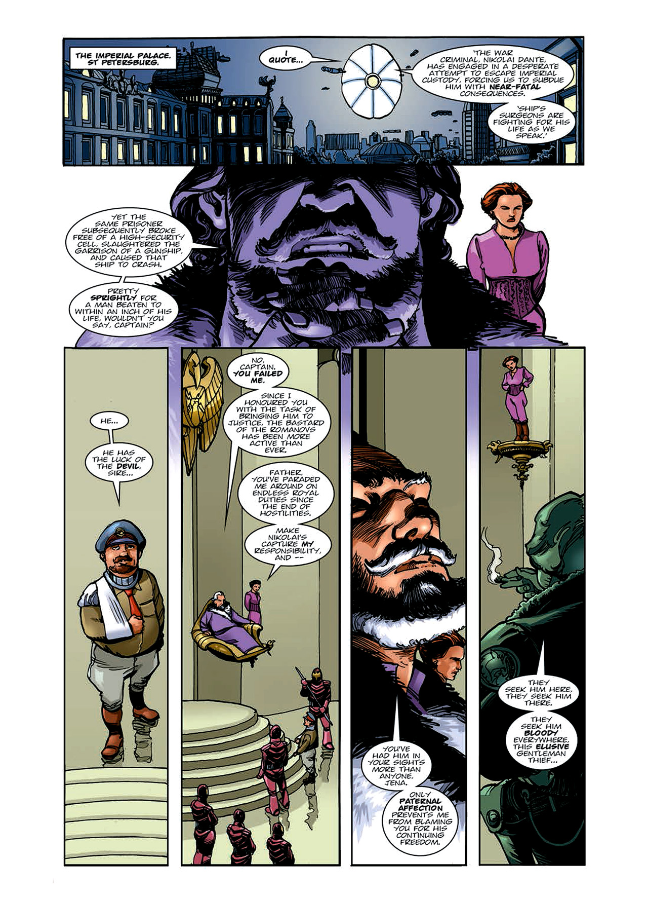 Read online Nikolai Dante comic -  Issue # TPB 6 - 38