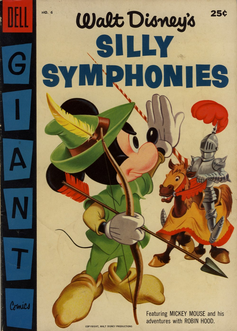 Walt Disney's Silly Symphonies issue 6 - Page 1