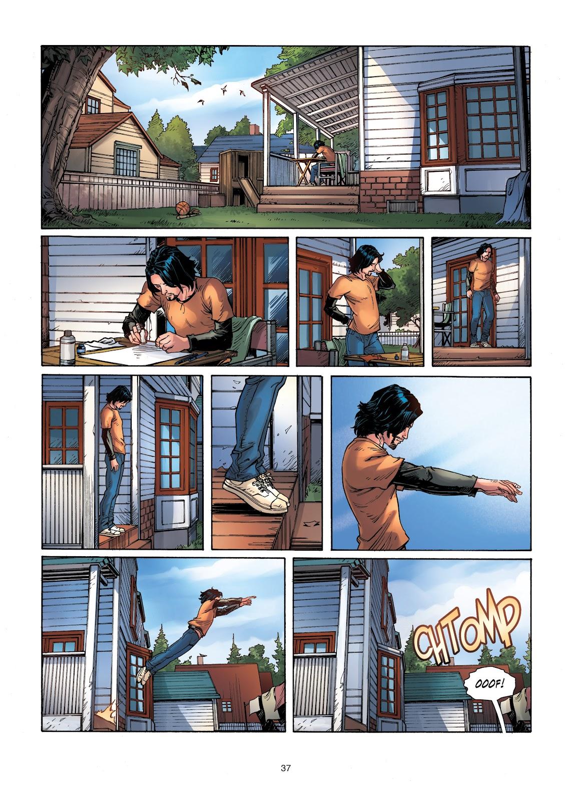 Read online Vigilantes comic -  Issue #1 - 37