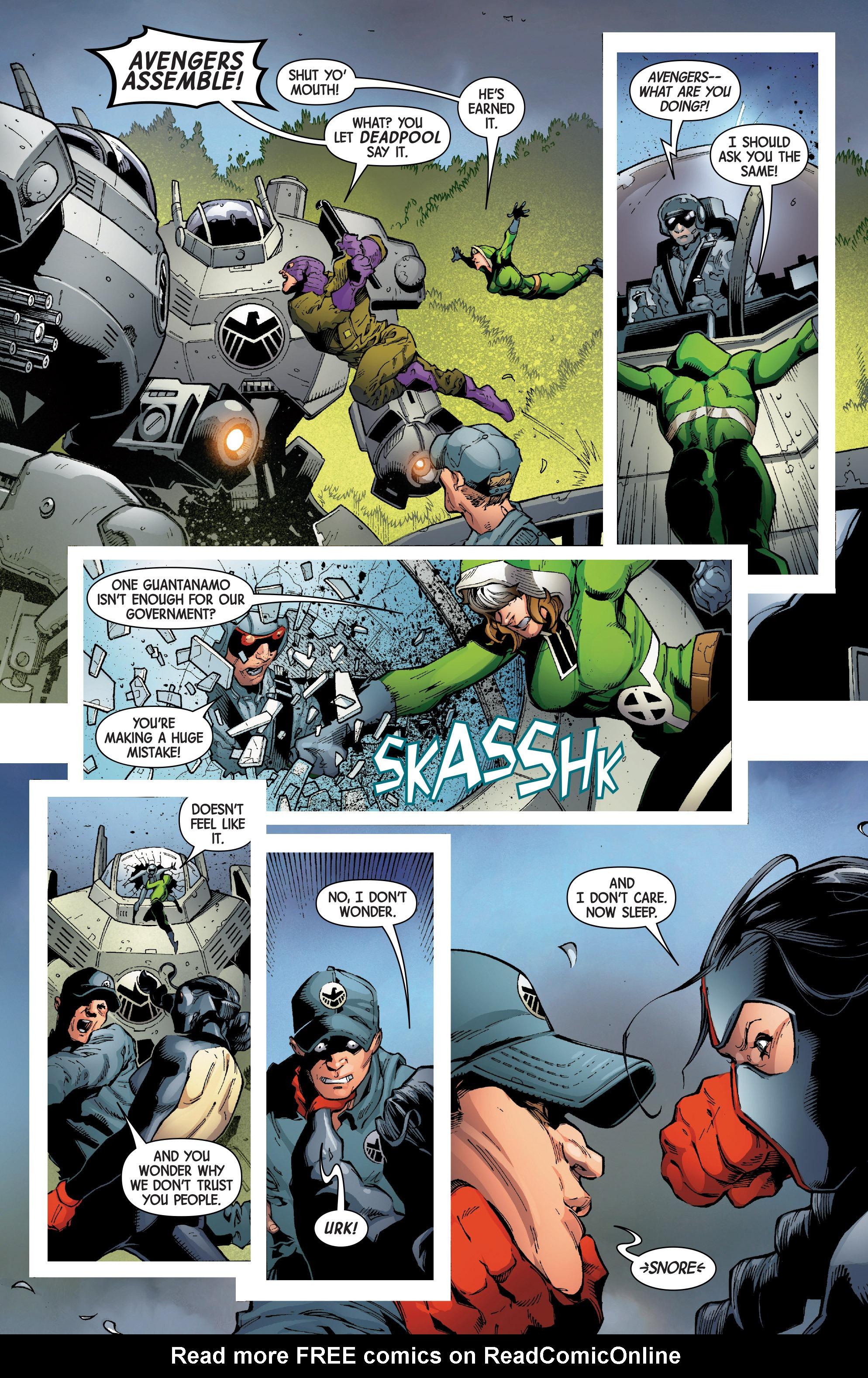 Read online Uncanny Avengers [II] comic -  Issue #7 - 17