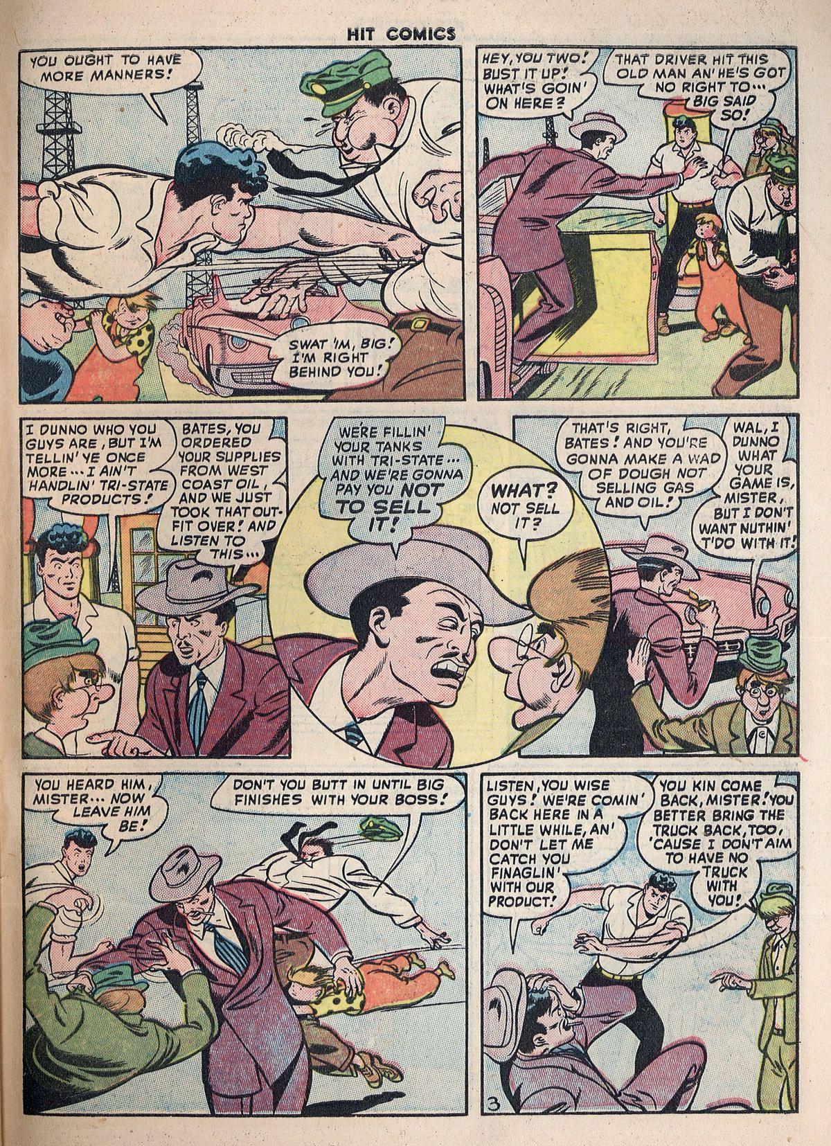 Read online Hit Comics comic -  Issue #55 - 47