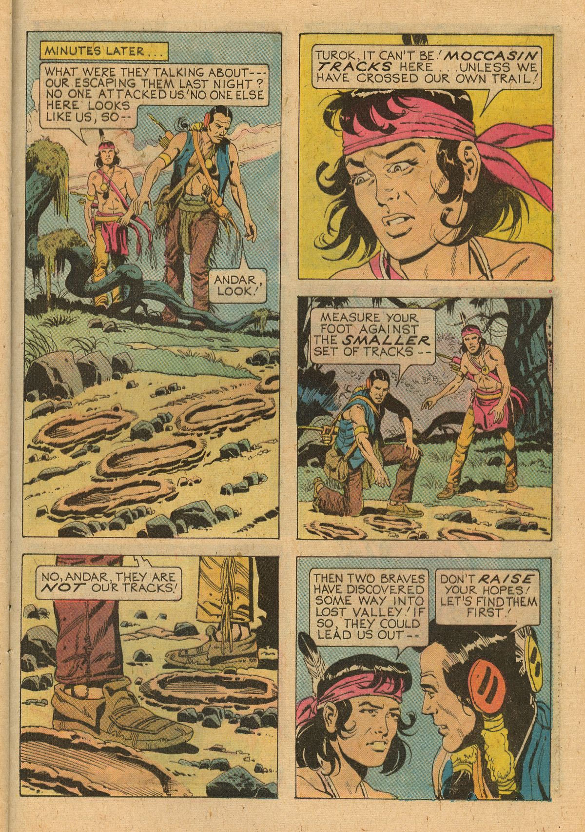 Read online Turok, Son of Stone comic -  Issue #107 - 25