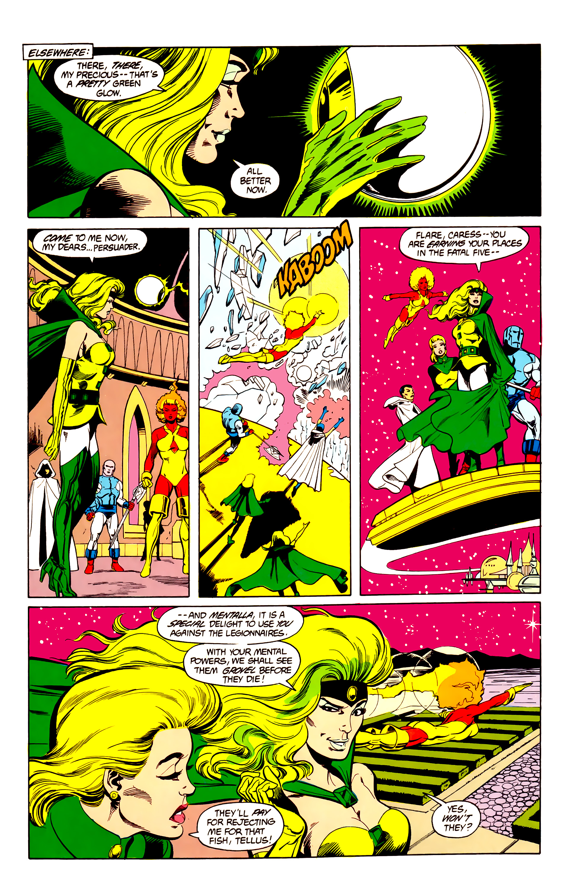 Legion of Super-Heroes (1984) 26 Page 9