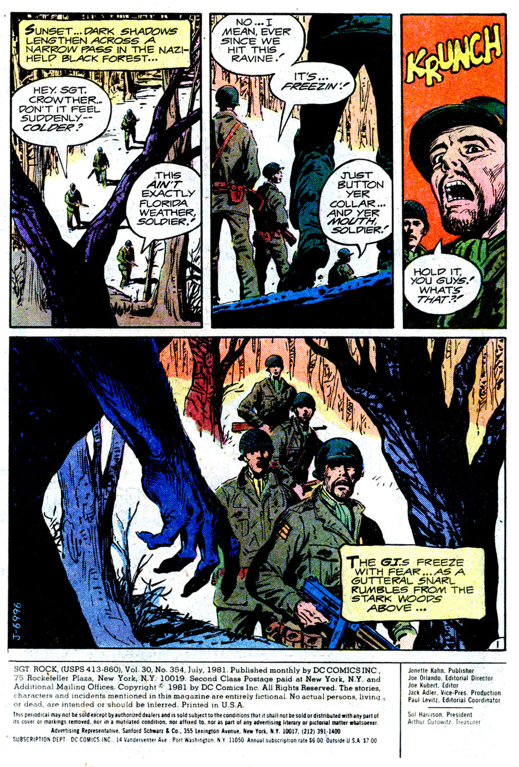 Read online Sgt. Rock comic -  Issue #354 - 2