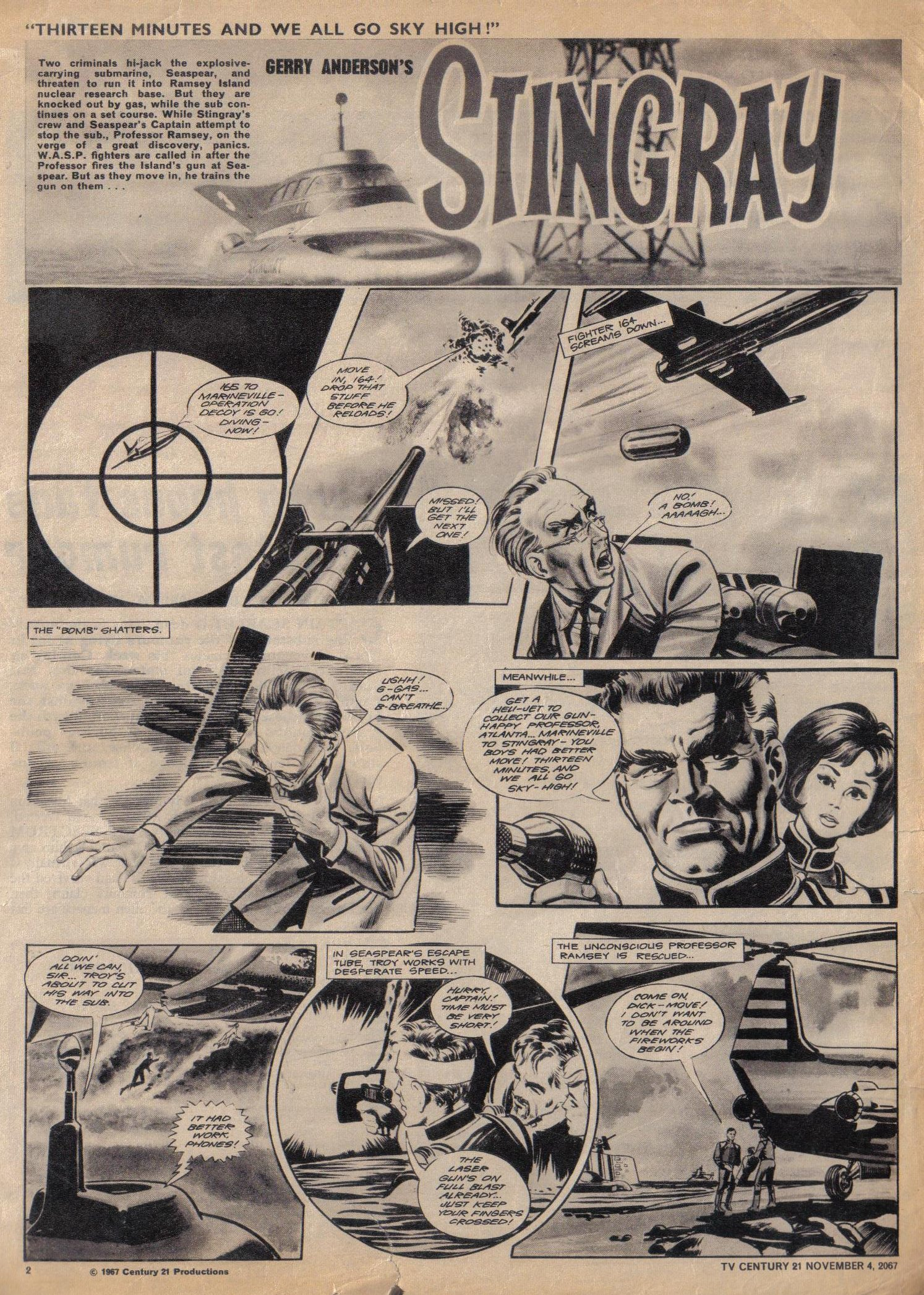 Read online TV Century 21 (TV 21) comic -  Issue #146 - 2