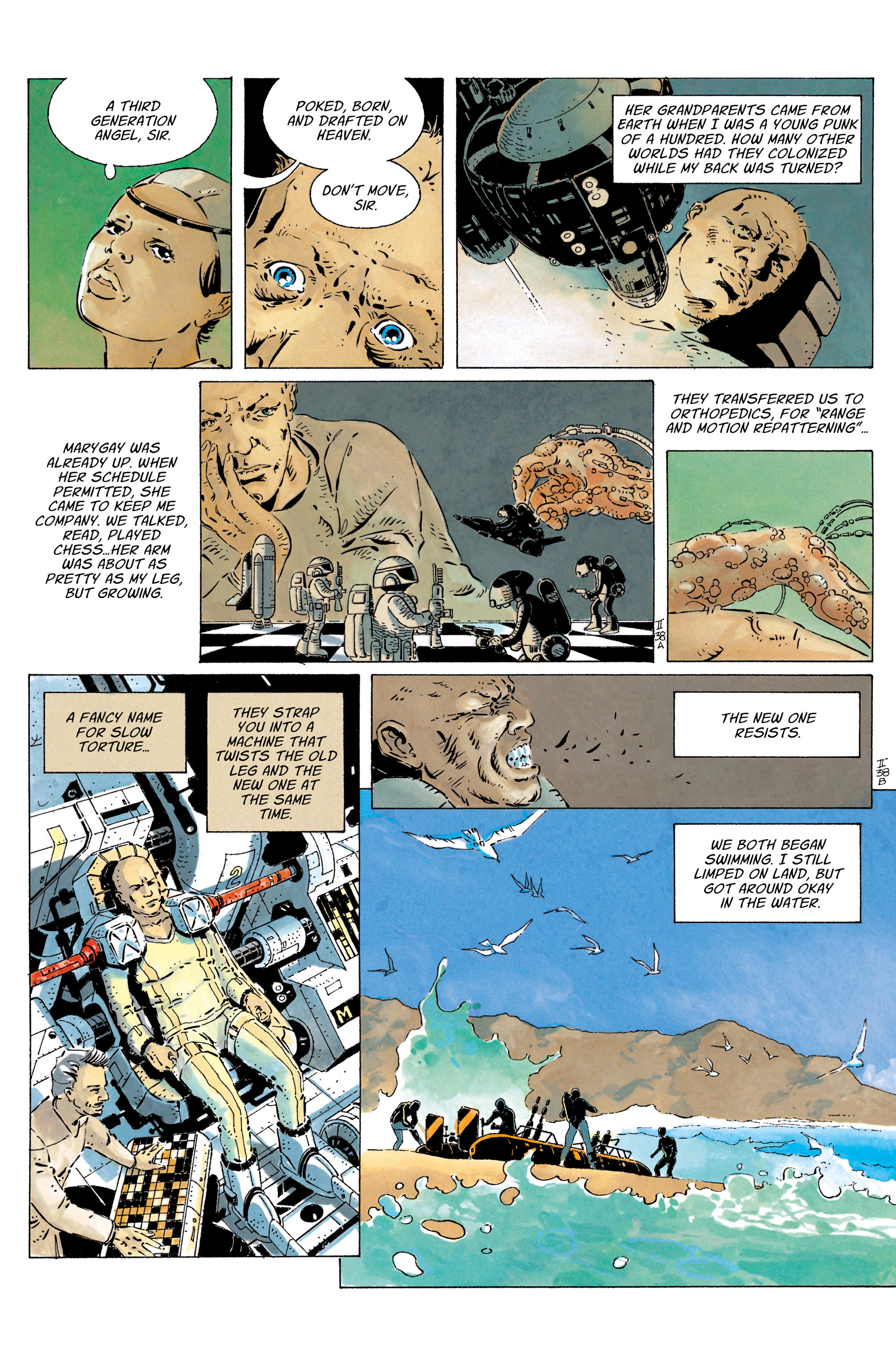 Read online The Forever War (2017) comic -  Issue #4 - 18