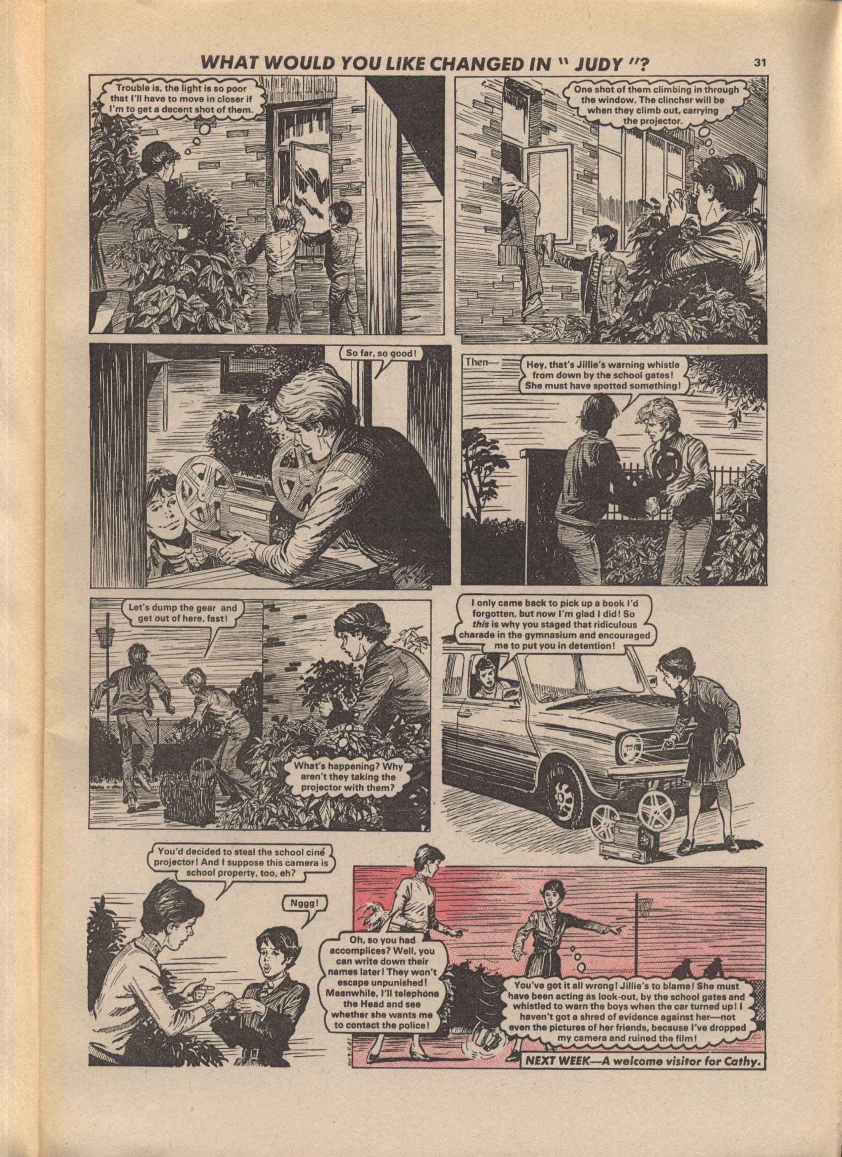 Read online Judy comic -  Issue #1113 - 31