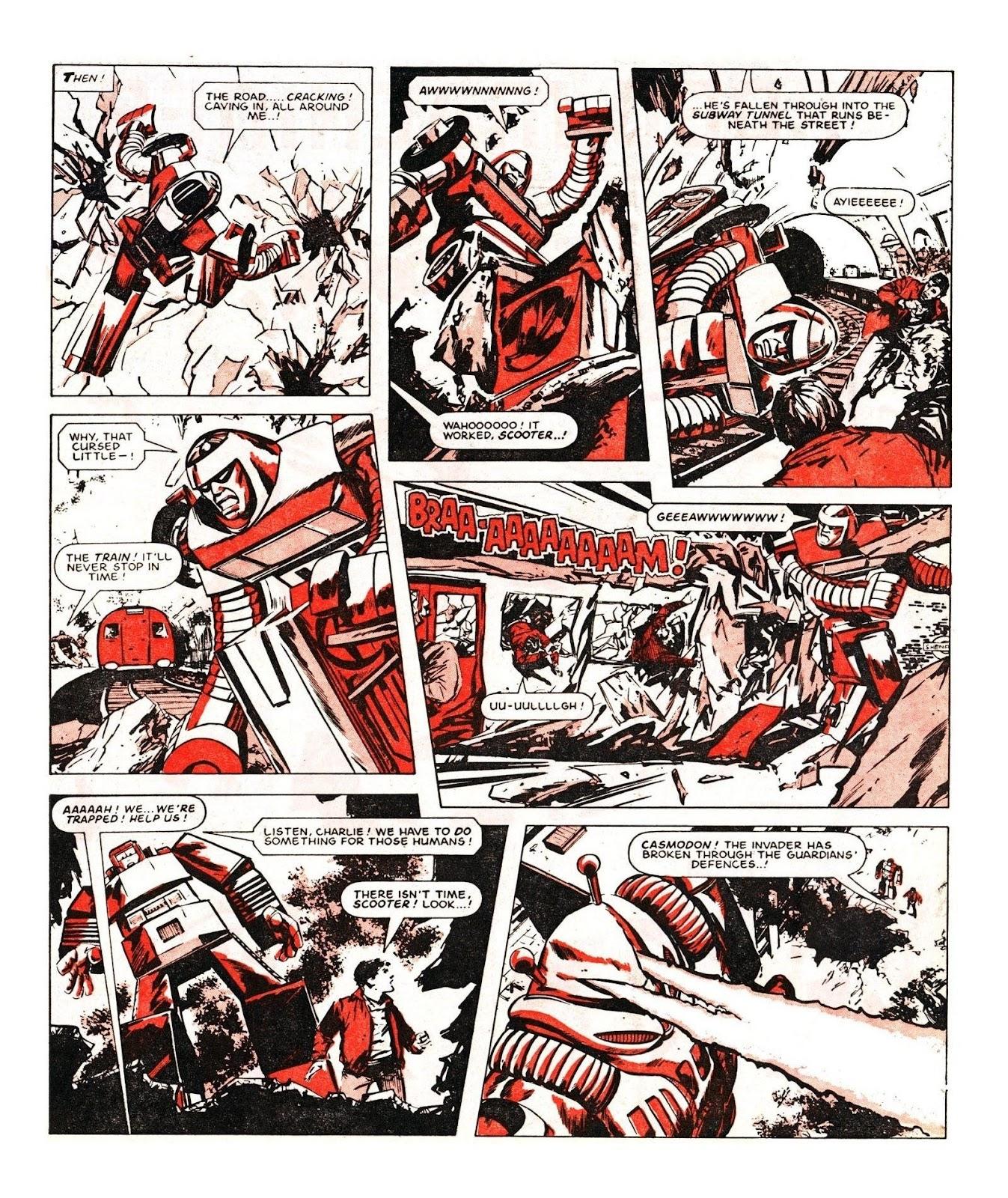 Read online Robo Machines comic -  Issue # TPB - 107