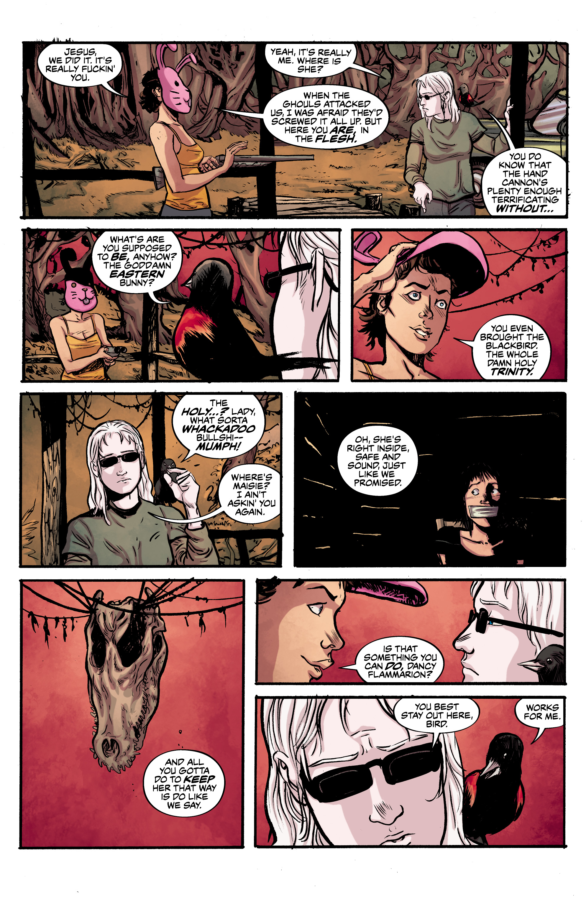 Read online Alabaster: The Good, the Bad and the Bird comic -  Issue #4 - 18
