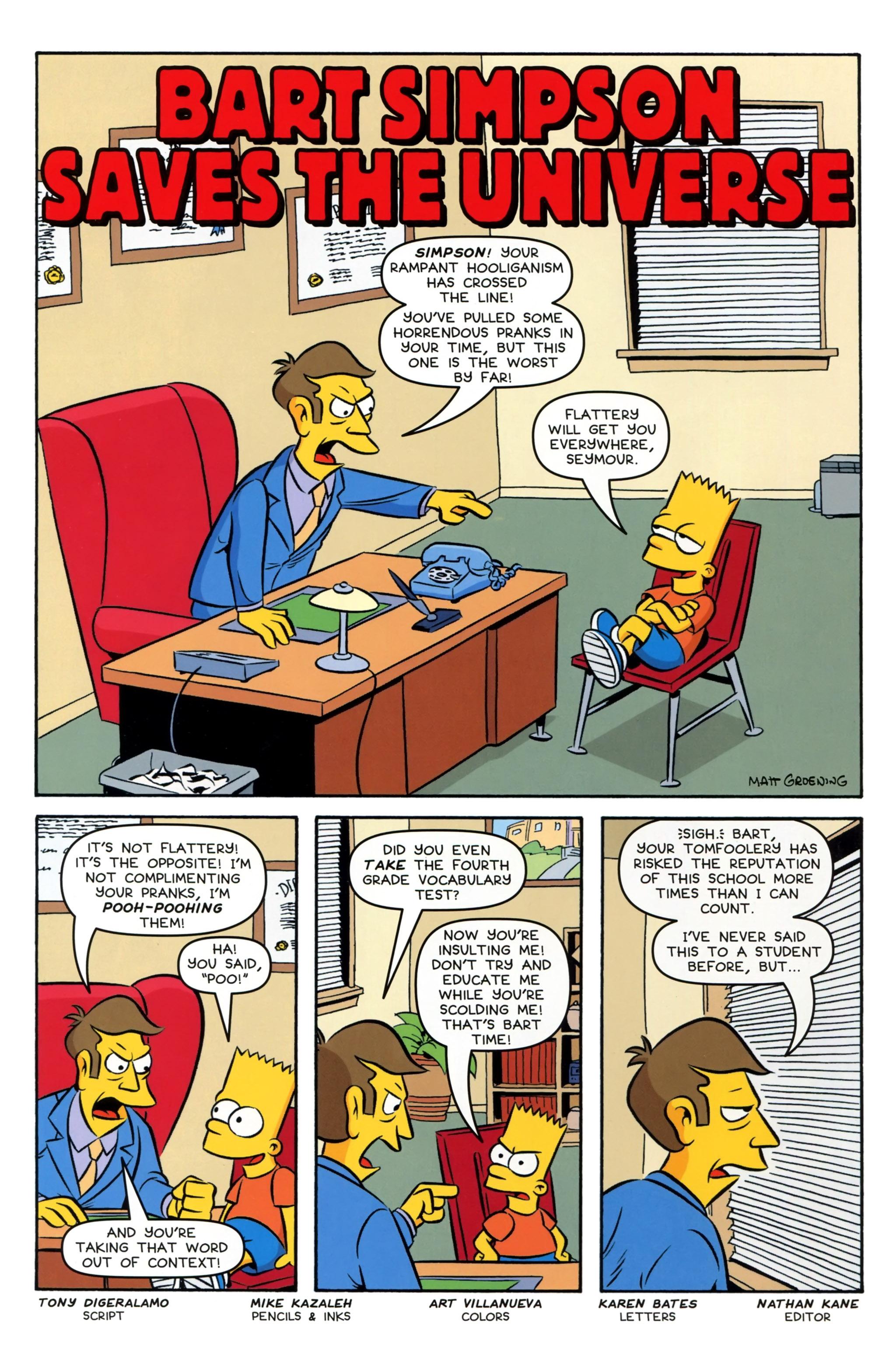 Read online Simpsons Comics Presents Bart Simpson comic -  Issue #97 - 17