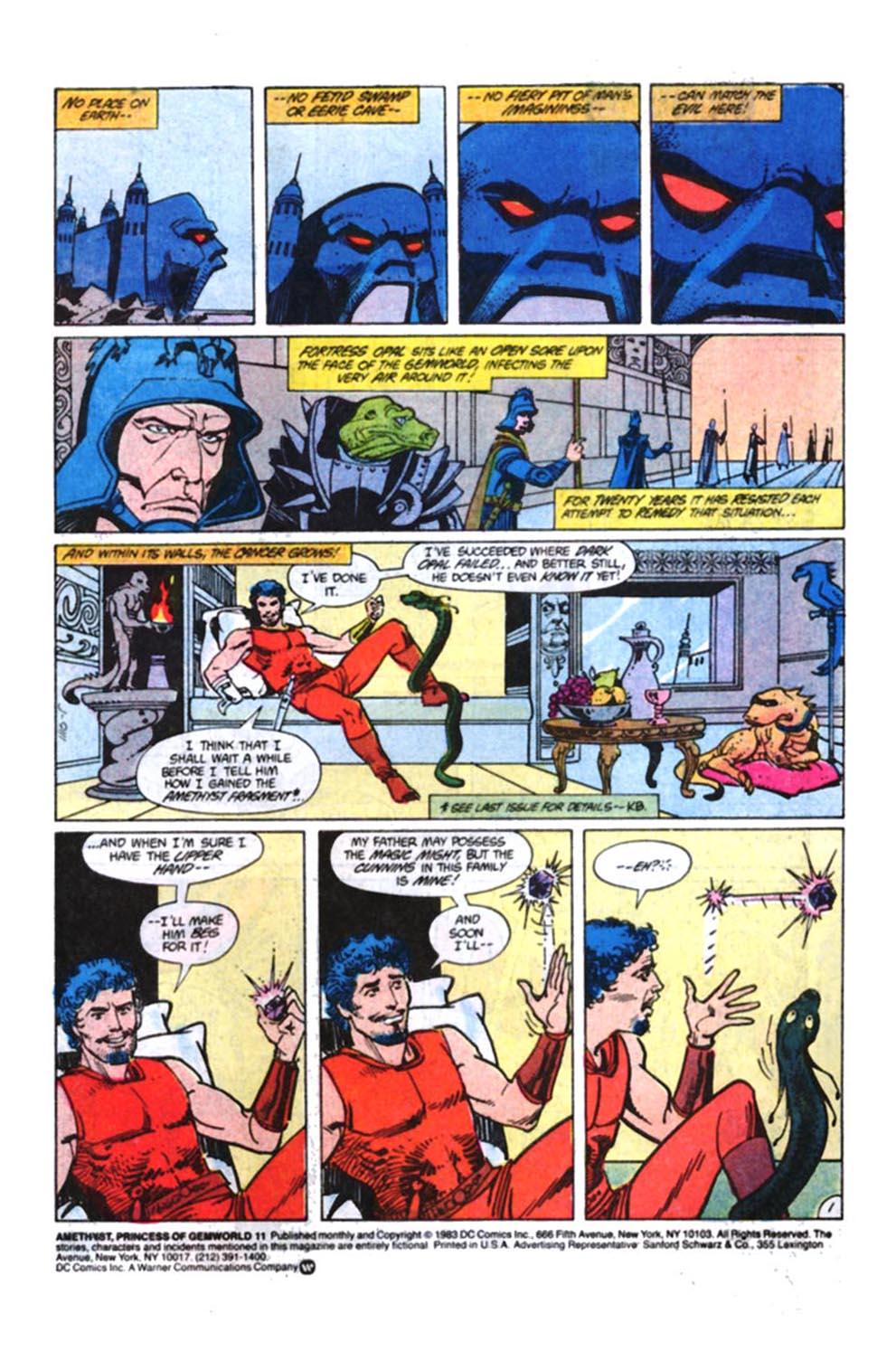 Read online Amethyst, Princess of Gemworld comic -  Issue #11 - 2