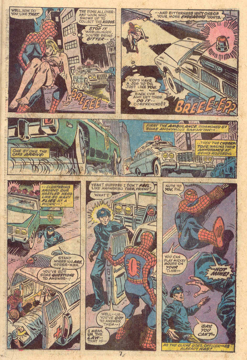 Giant-Size Spider-Man (1974) issue 4 - Page 6