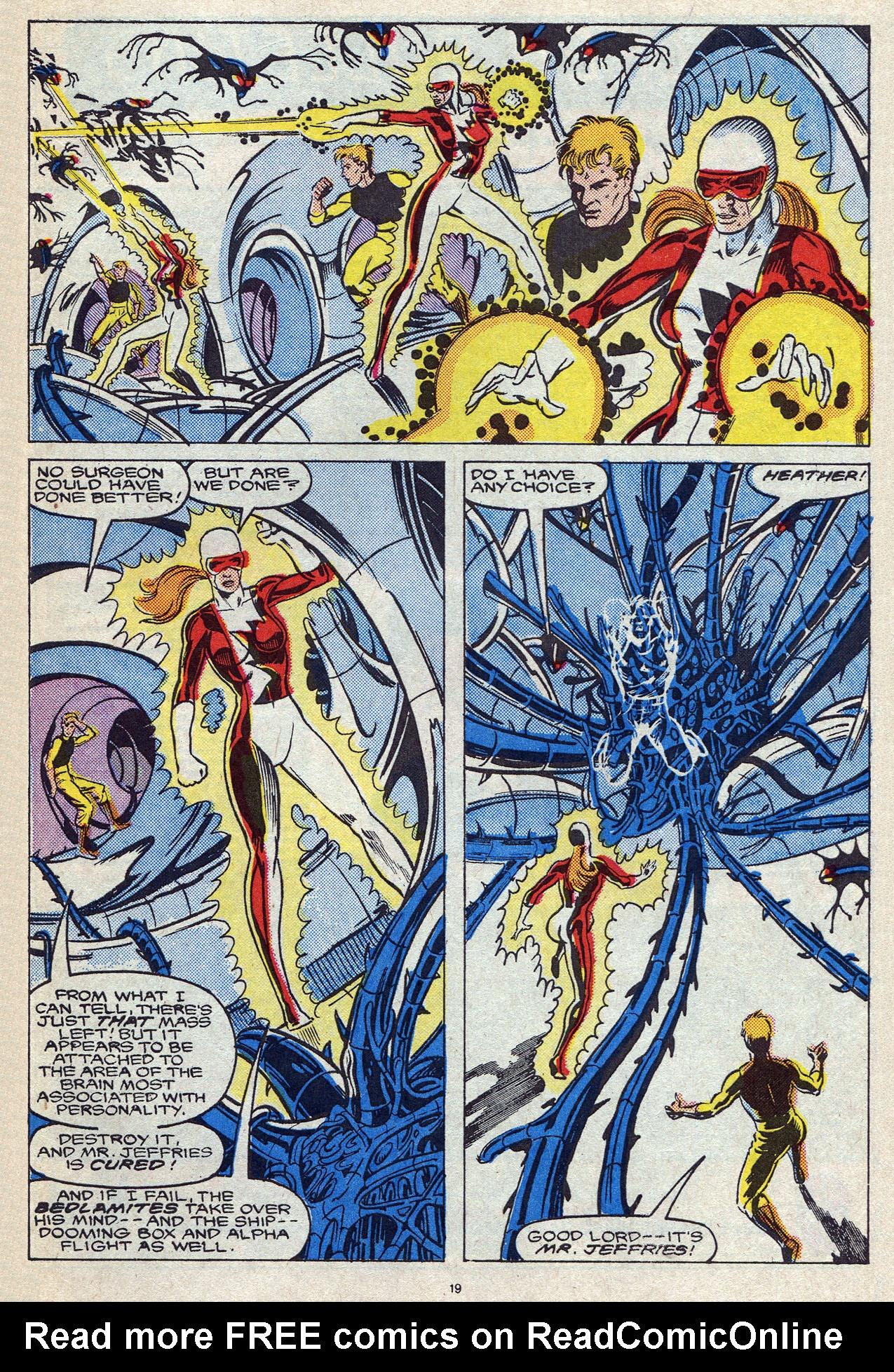 Read online Alpha Flight (1983) comic -  Issue #56 - 26