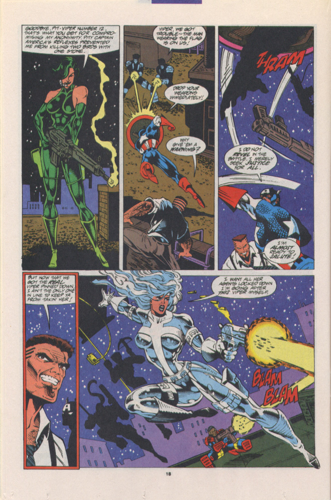 Read online Silver Sable and the Wild Pack comic -  Issue #15 - 15