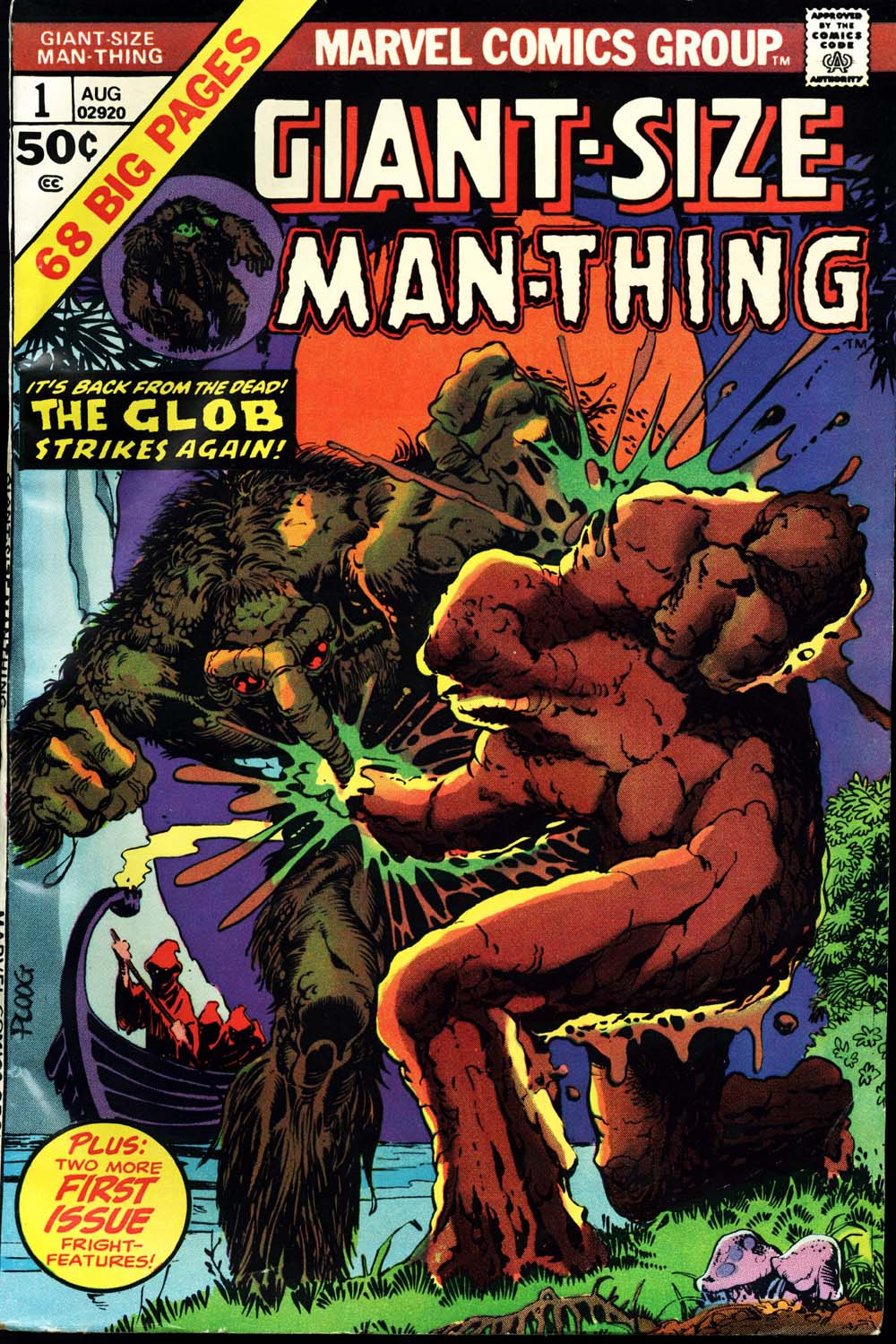Giant-Size Man-Thing issue 1 - Page 1