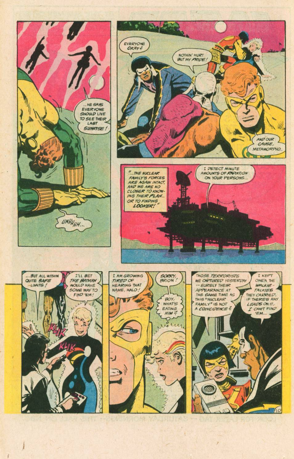 Read online Adventures of the Outsiders comic -  Issue #40 - 11