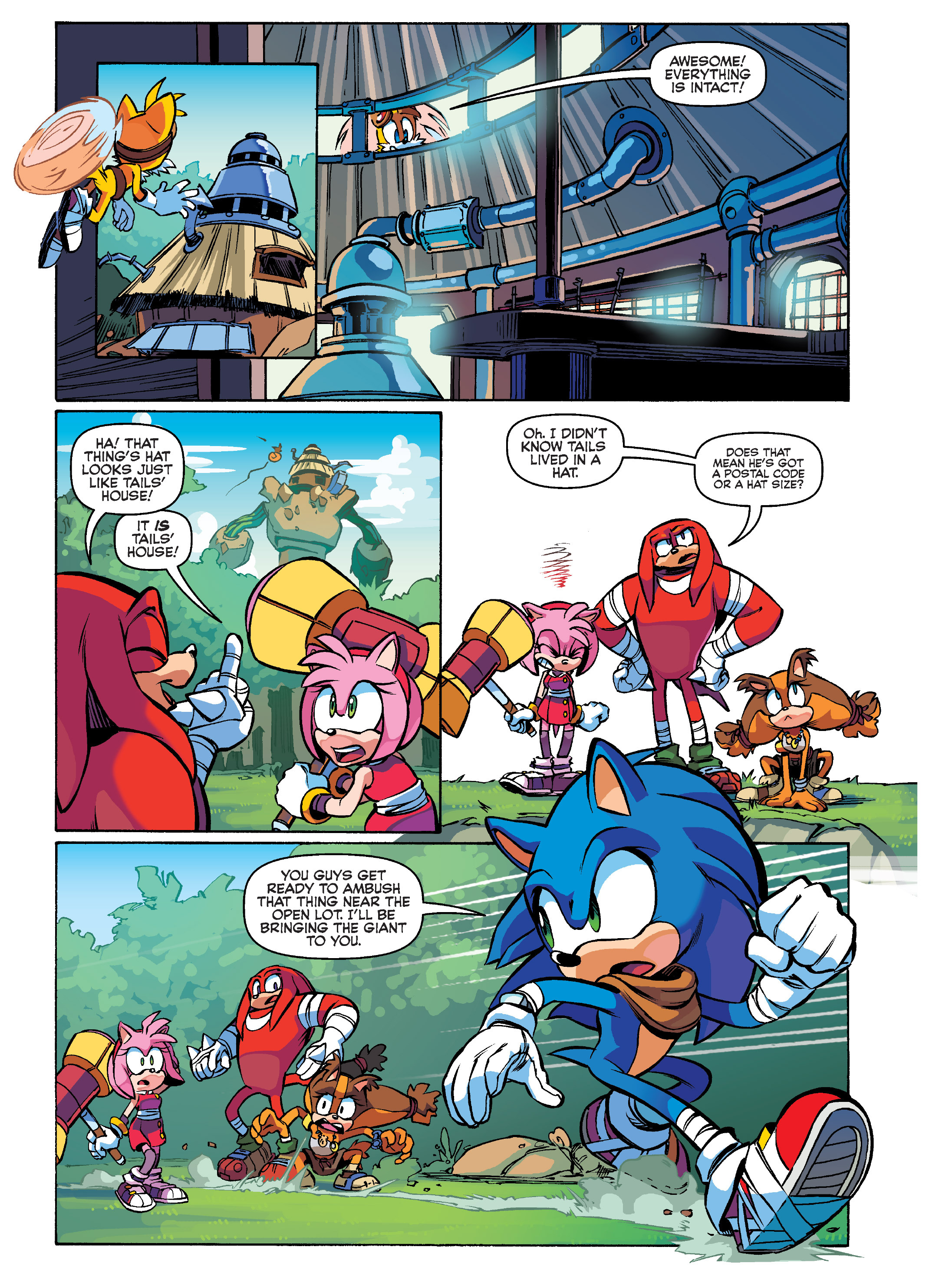 Read online Sonic Super Digest comic -  Issue #10 - 15