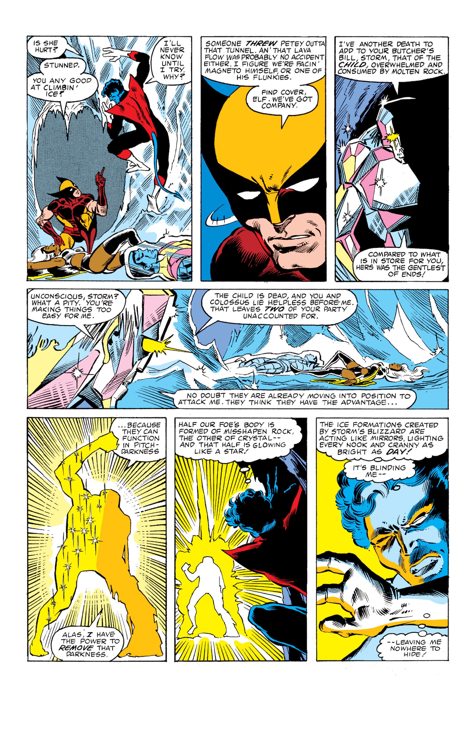 Read online Uncanny X-Men (1963) comic -  Issue #149 - 16