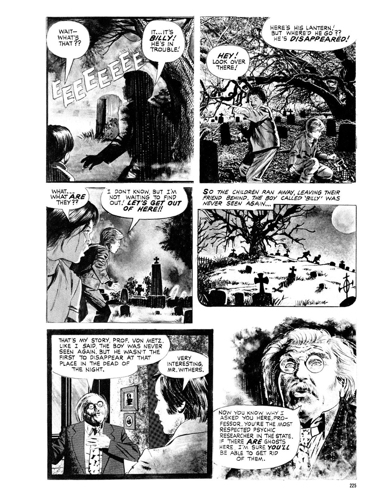 Read online Eerie Archives comic -  Issue # TPB 9 - 226