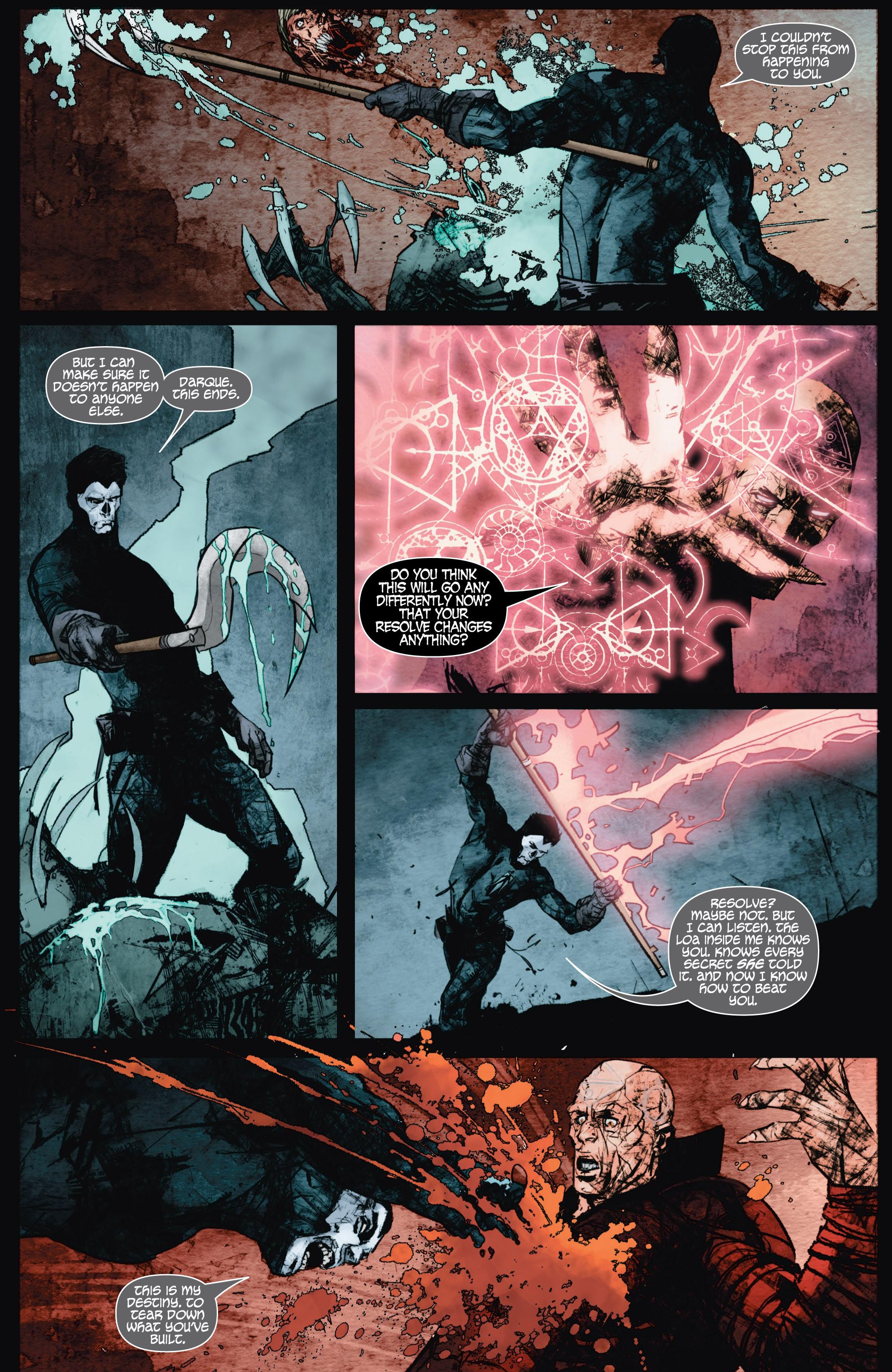 Read online Shadowman (2012) comic -  Issue #9 - 20