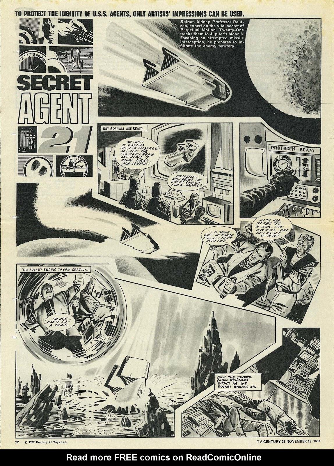 TV Century 21 (TV 21) issue 148 - Page 21