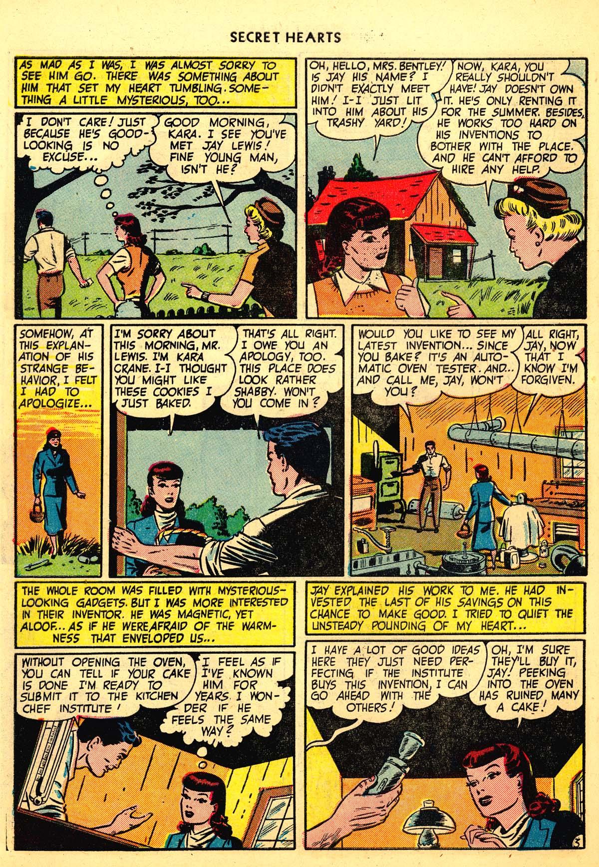 Read online Secret Hearts comic -  Issue #6 - 14