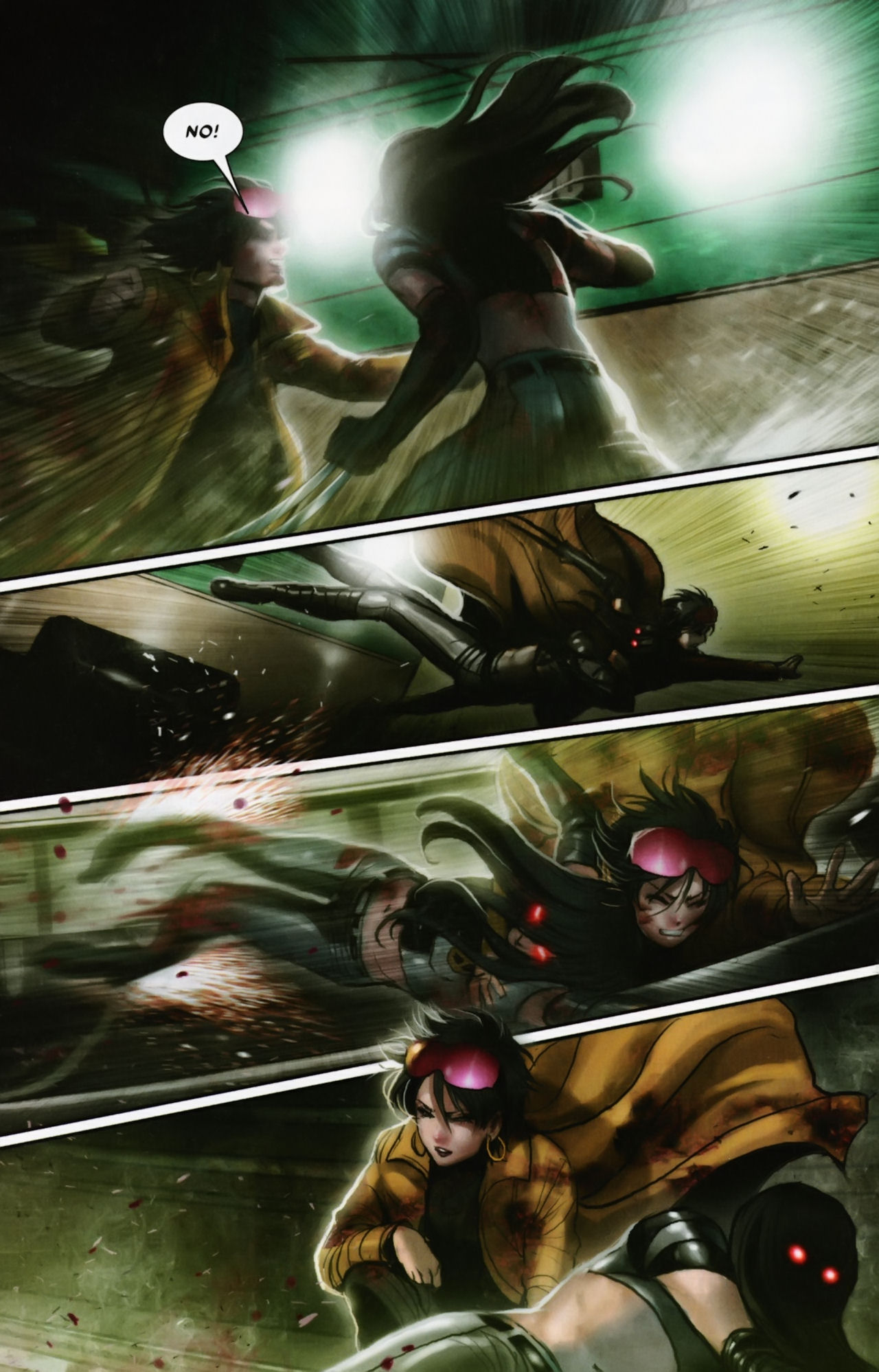 Read online X-23 (2010) comic -  Issue #12 - 3