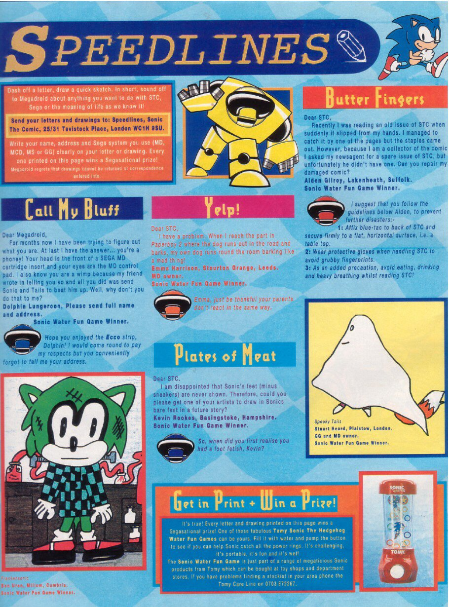 Read online Sonic the Comic comic -  Issue #28 - 30