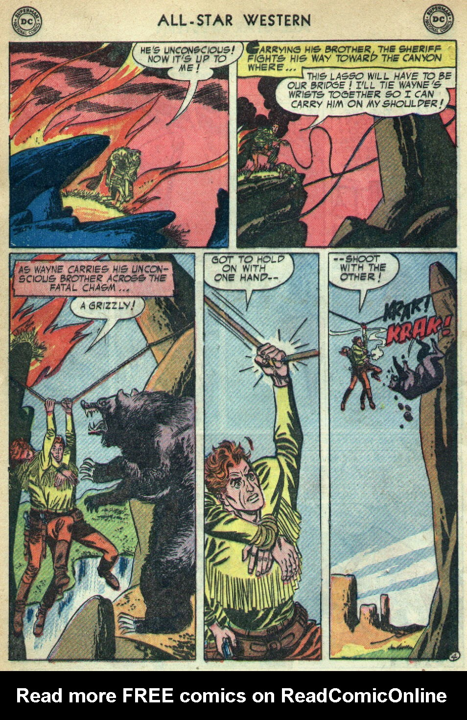 Read online All-Star Western (1951) comic -  Issue #79 - 32