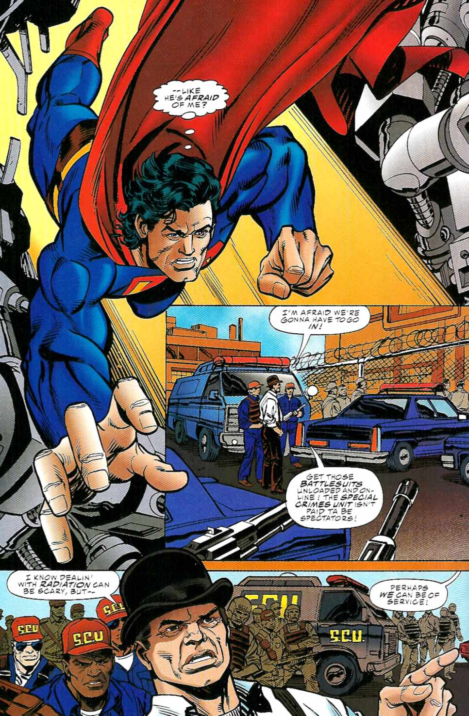 Read online Action Comics (1938) comic -  Issue #715 - 19