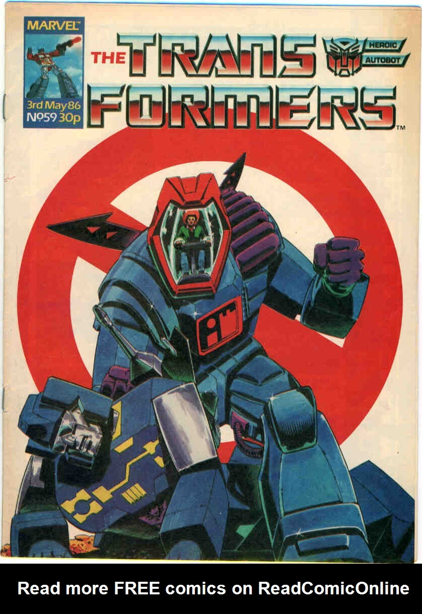 The Transformers (UK) 59 Page 1