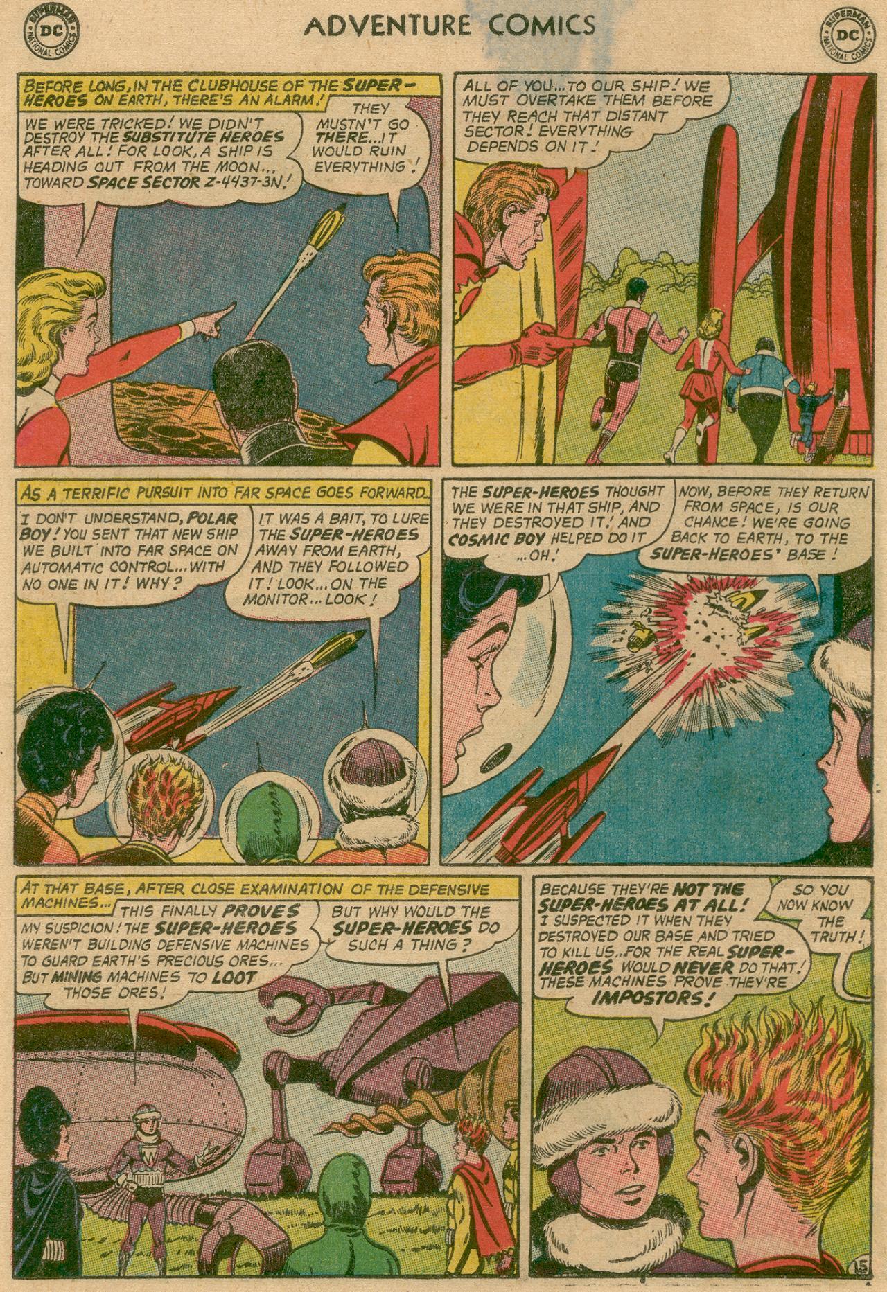 Read online Adventure Comics (1938) comic -  Issue #311 - 17