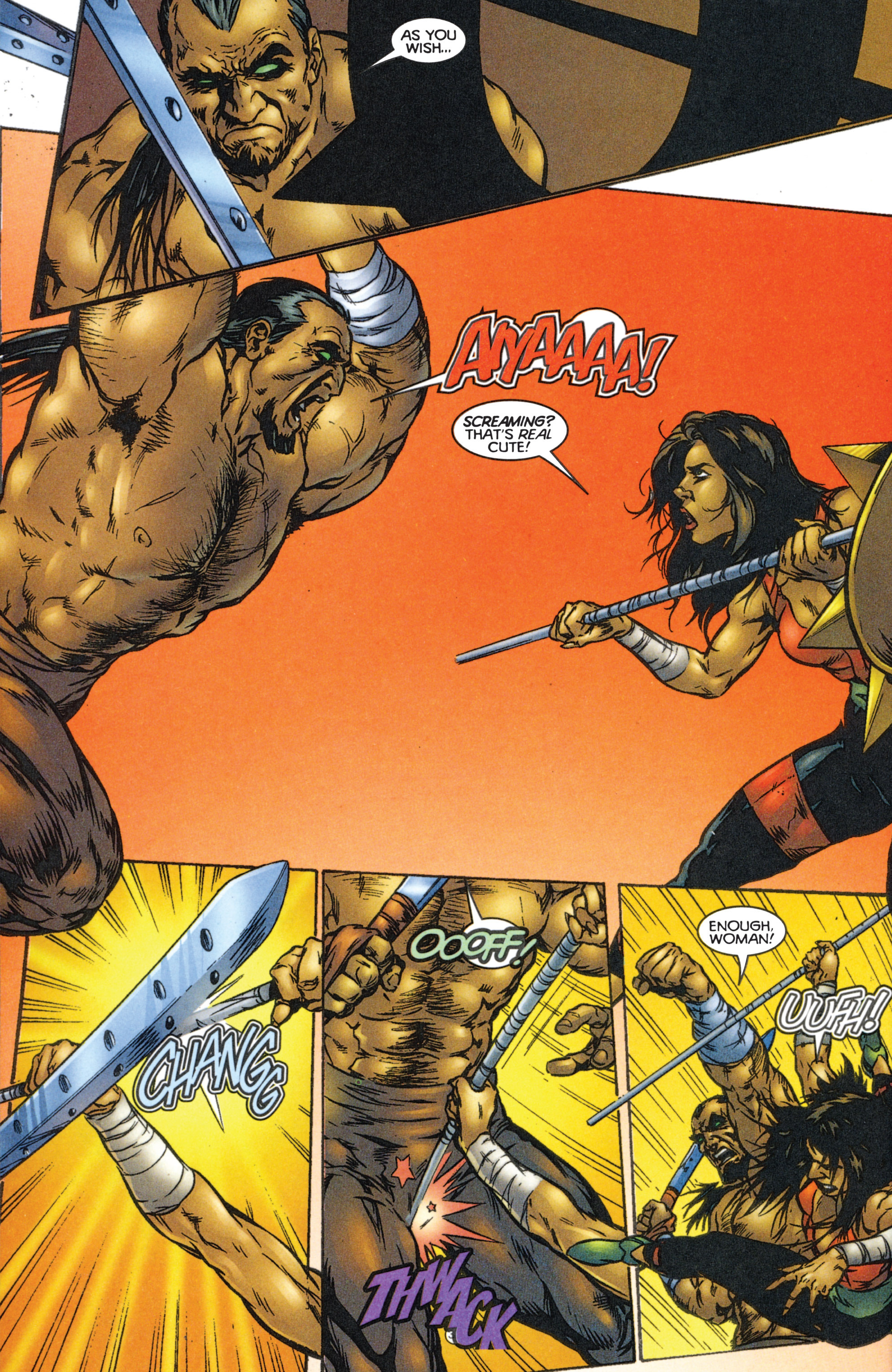 Read online Eternal Warriors comic -  Issue # Issue The Immortal Enemy - 28