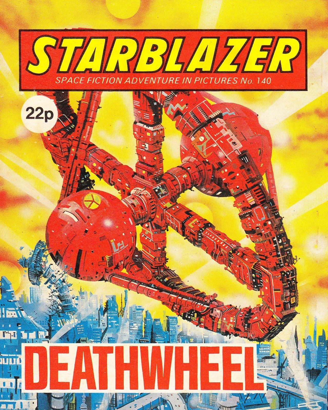 Starblazer issue 140 - Page 1