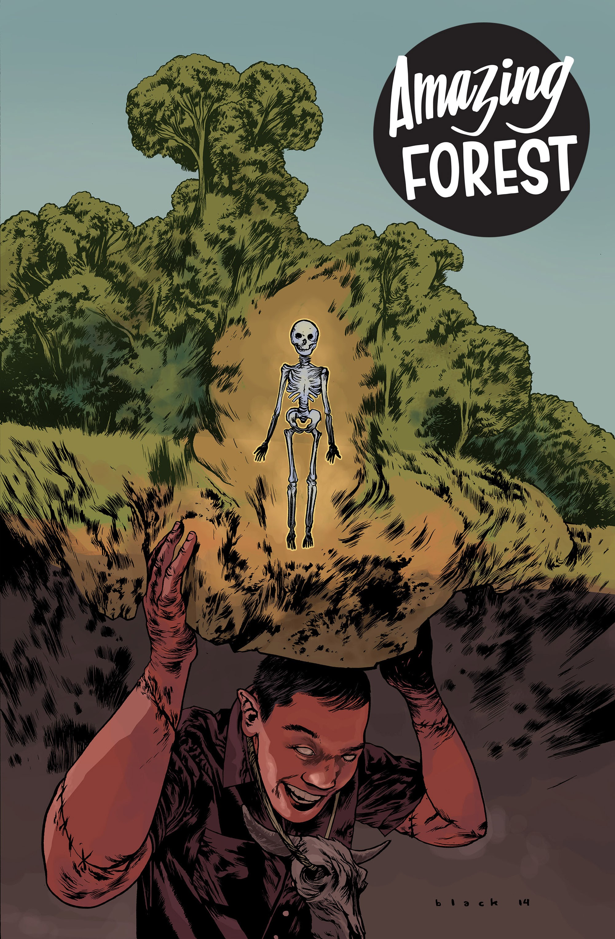 Amazing Forest (2013) issue 9 - Page 1