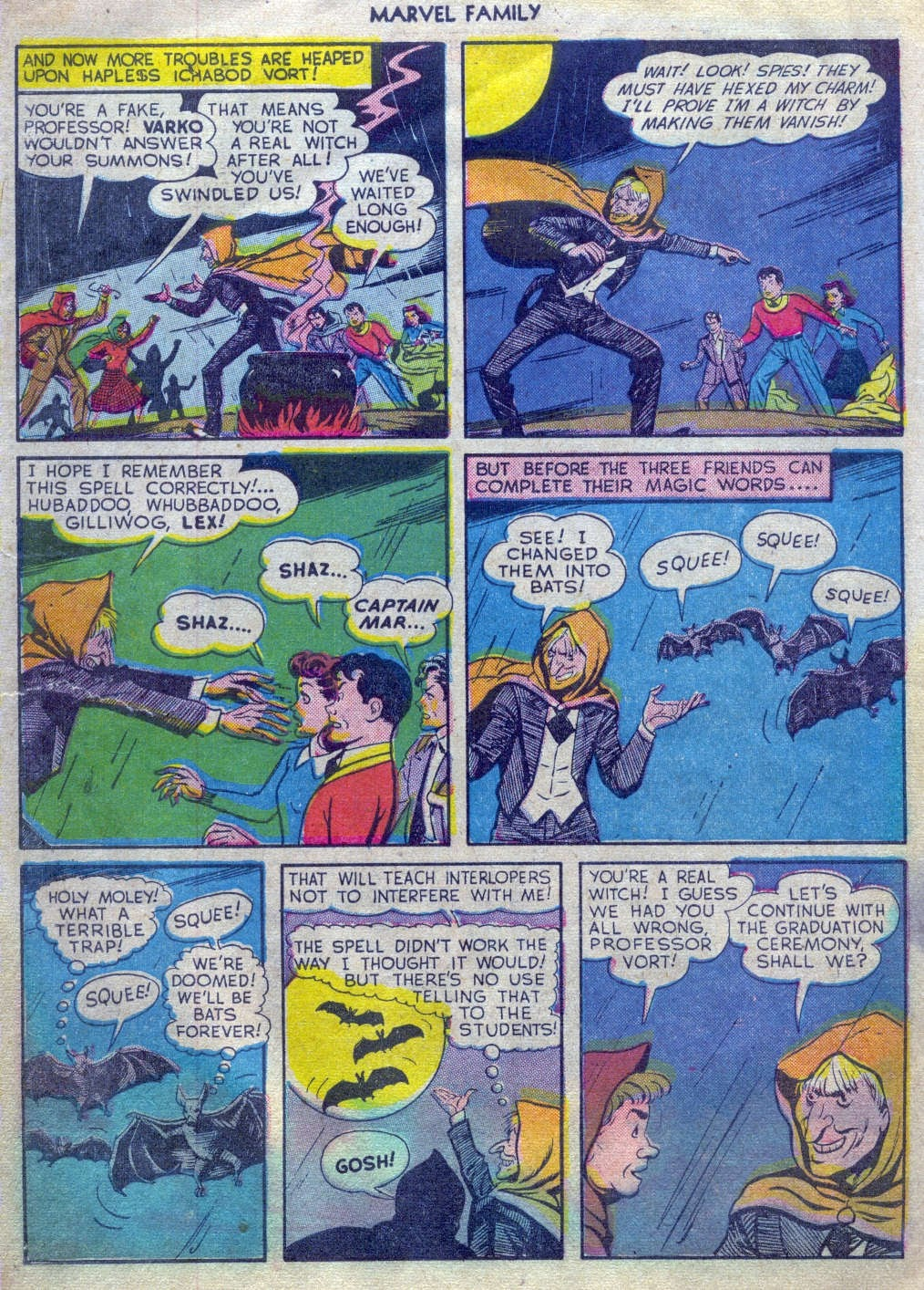 The Marvel Family issue 52 - Page 29